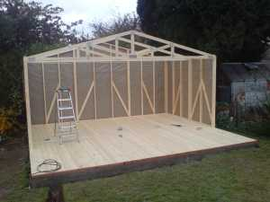 Suffolk sheds garages for Engineered roof trusses prices